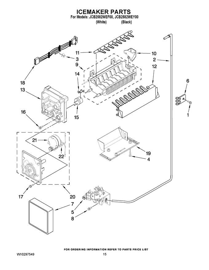 Diagram for JCB2582WEF00