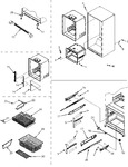 Diagram for 09 - Interior Cabinet/toe Grille/frz Shelves