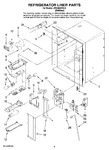 Diagram for 02 - Refrigerator Liner Parts