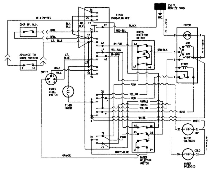 Diagram for JW2000A