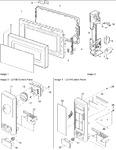 Diagram for 02 - Door, Interlock & Control Panel Parts