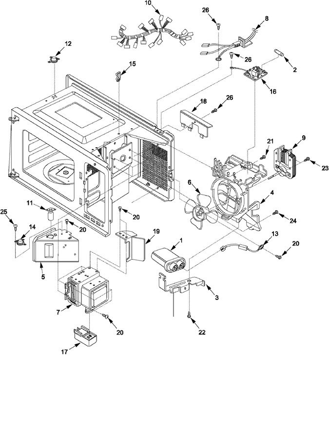 Diagram for LD10MP (BOM: P1329703M)