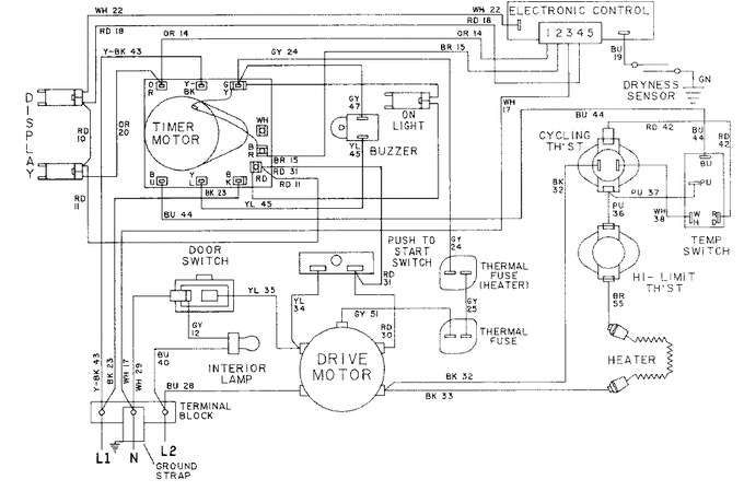 Diagram for LDE9304ACE