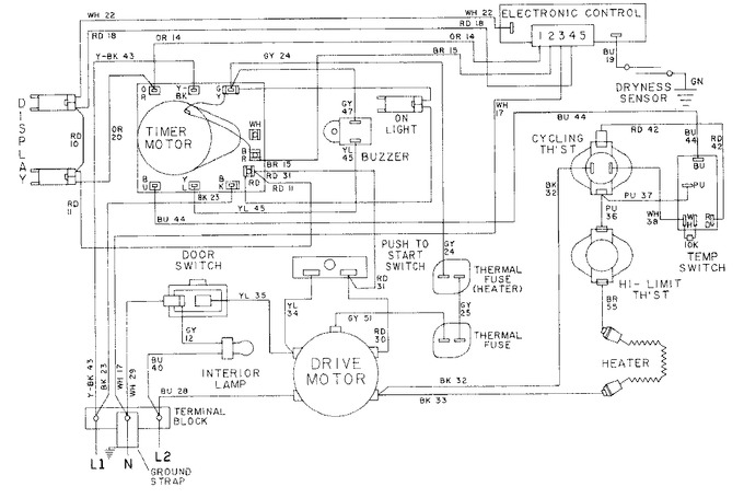 Diagram for LDE9334ACL