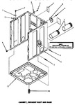 Diagram for 03 - Cabinet, Exhaust Duct & Base