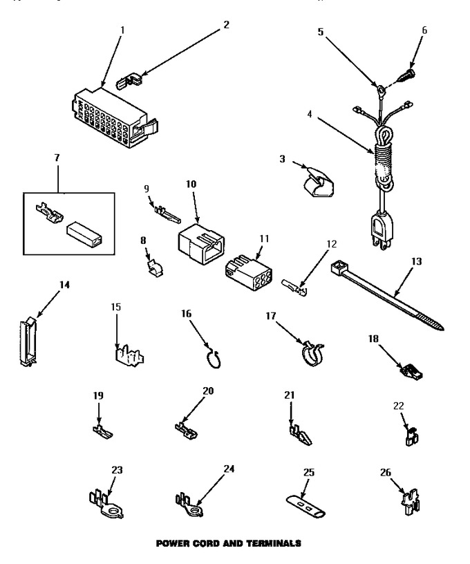 Diagram for LW8463W2 (BOM: PLW8463W2 A)