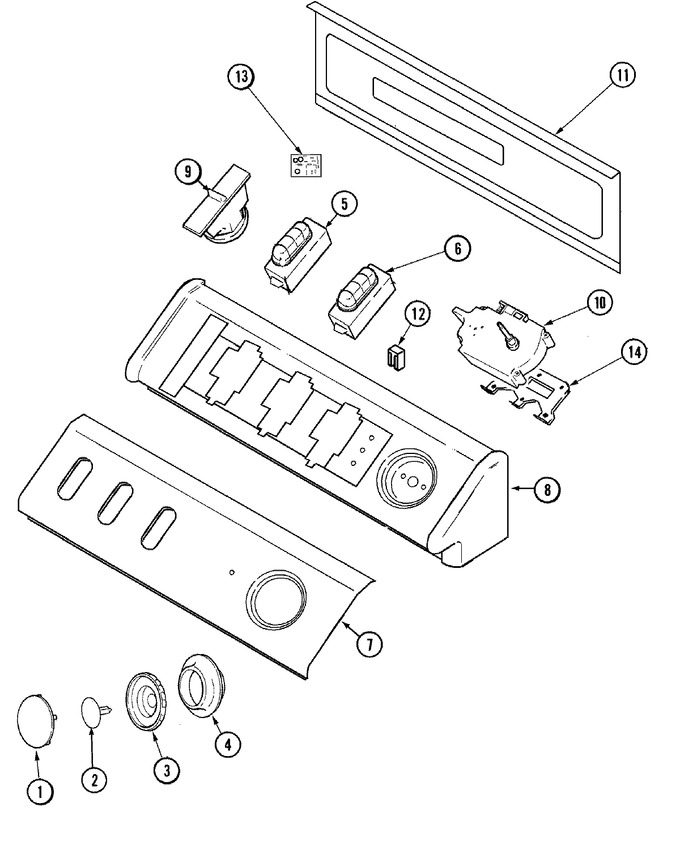 Diagram for MAV7600CGW