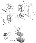 Diagram for 07 - Interior Cabinet & Freezer Shelves