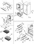 Diagram for 08 - Interior Cabinet & Freezer Shelves