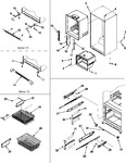 Diagram for 08 - Interior Cabinet/toe Grille/frz Shelves