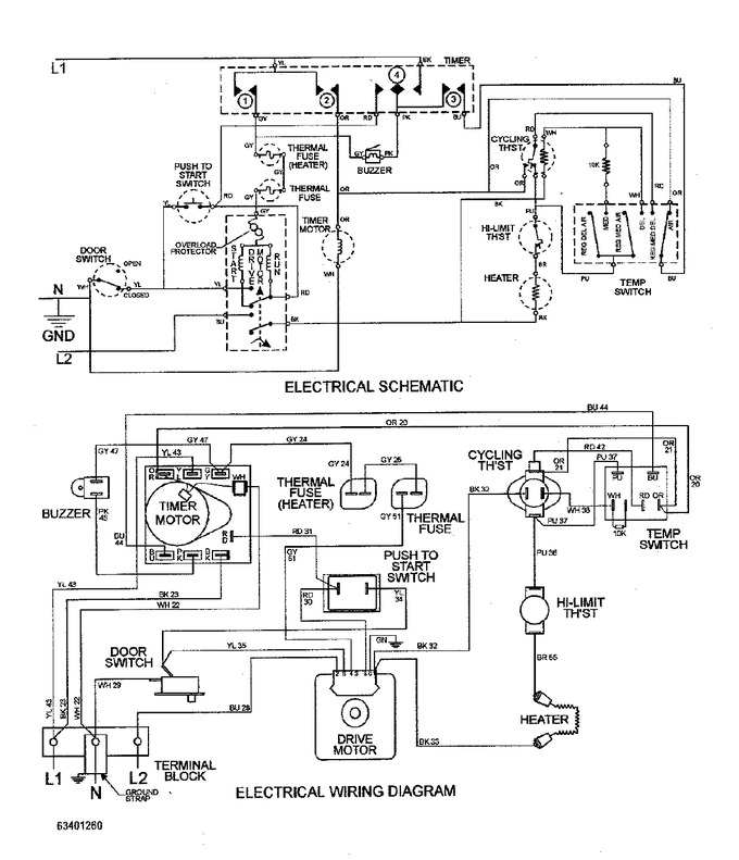 Diagram for MDE2600AYW