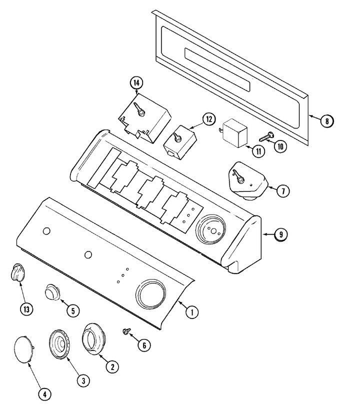 Diagram for MDE2600AZW