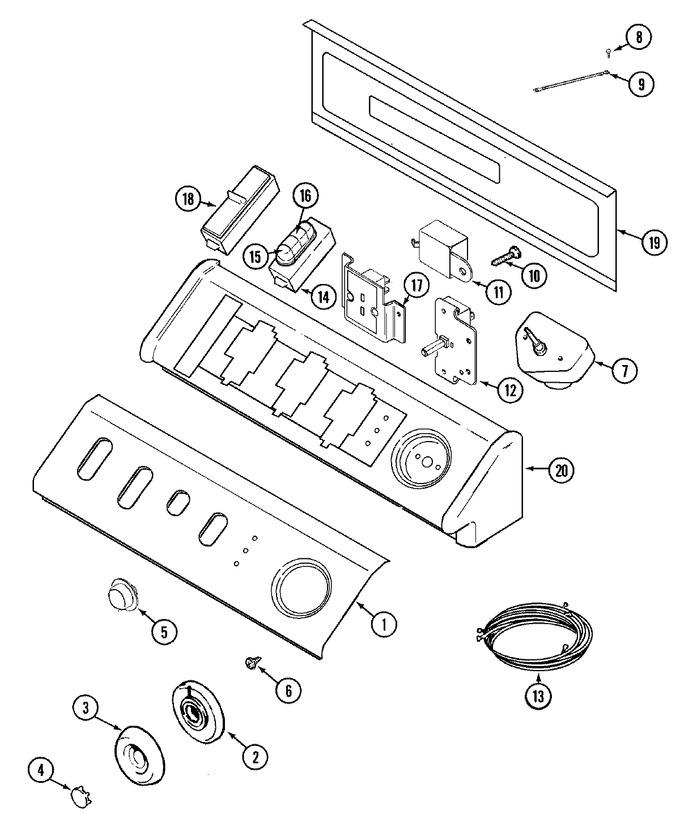 Diagram for MDE9806AZW