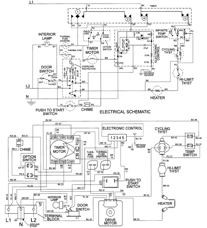 Diagram for MDE3000AYW