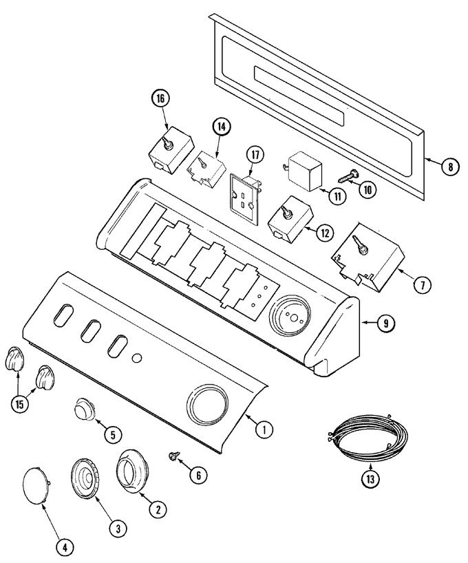 Diagram for MDE9557AZW