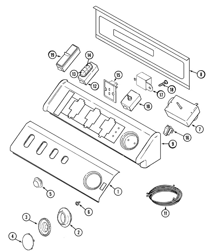 Diagram for MDE8600AZW