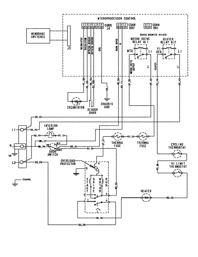 Diagram for MDE5500AZQ