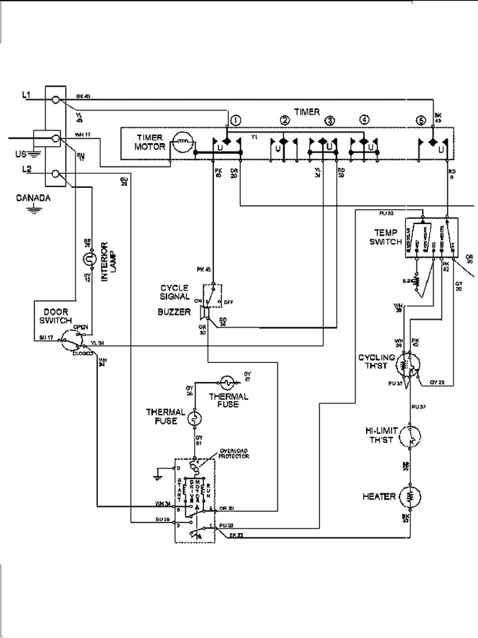 Diagram for MDE6400AZW