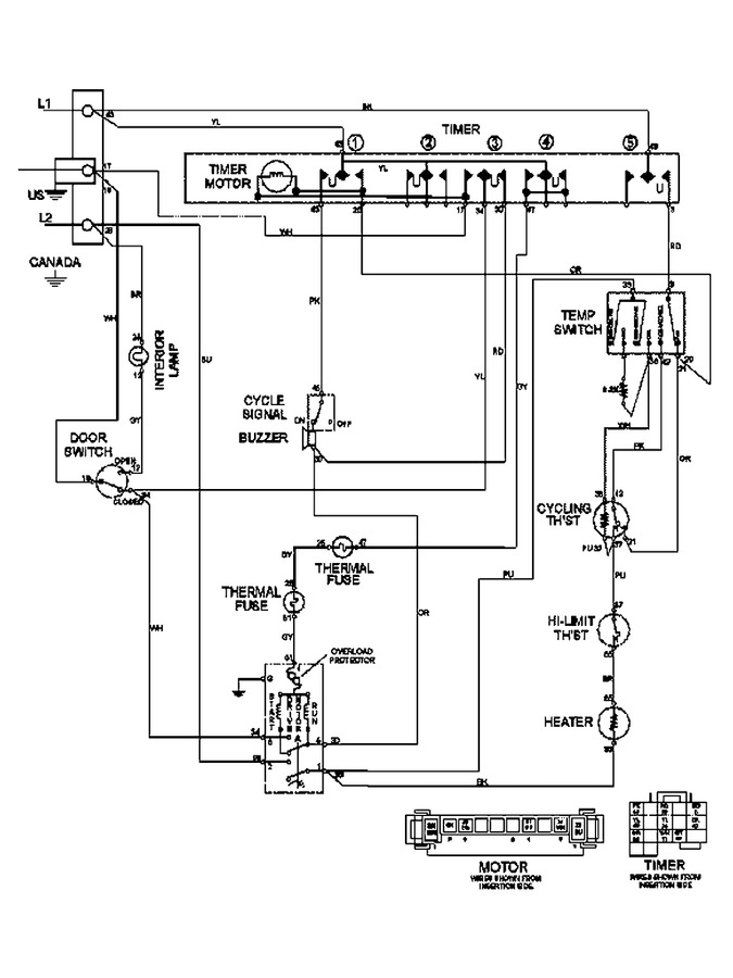 Diagram for MDE6460AYW