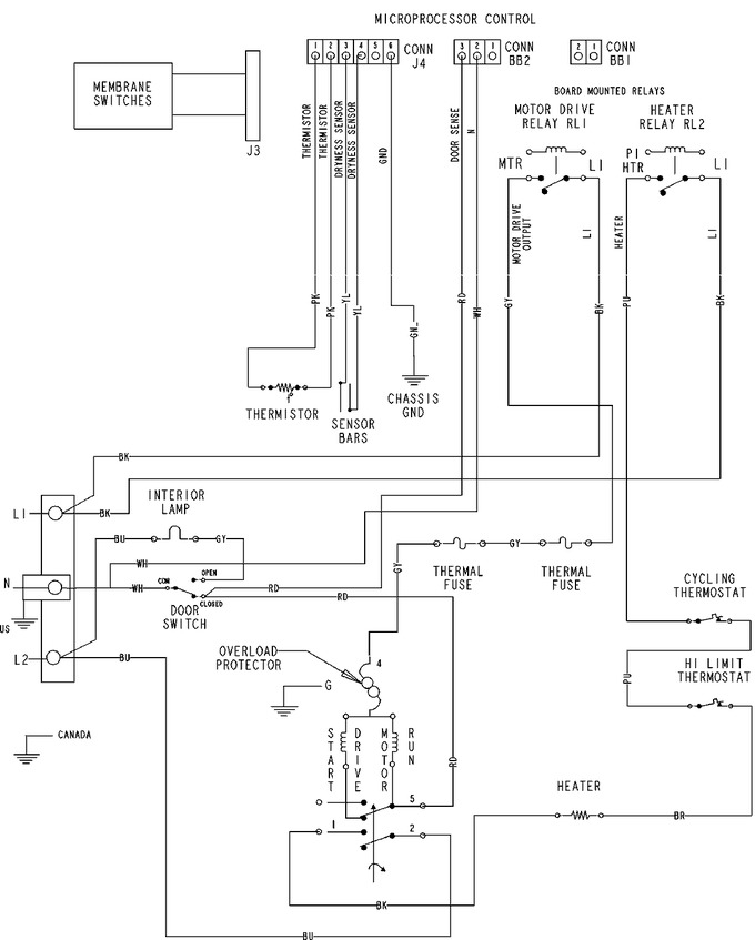 Diagram for MDE6800AYW