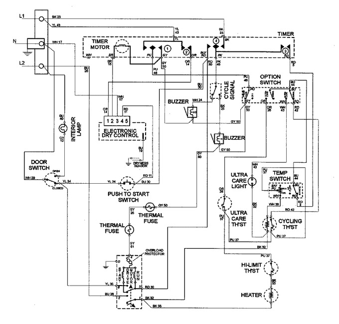 Diagram for MDE8057AYW