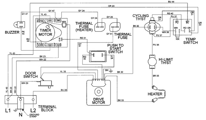 Diagram for MDE8506AYW