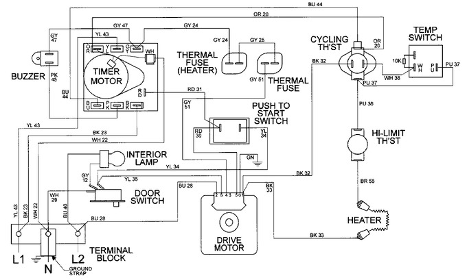 Diagram for MDE9316AYW