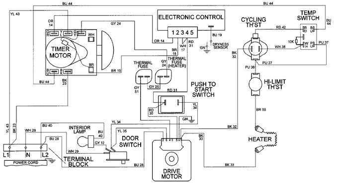 Diagram for MDE9606AZW