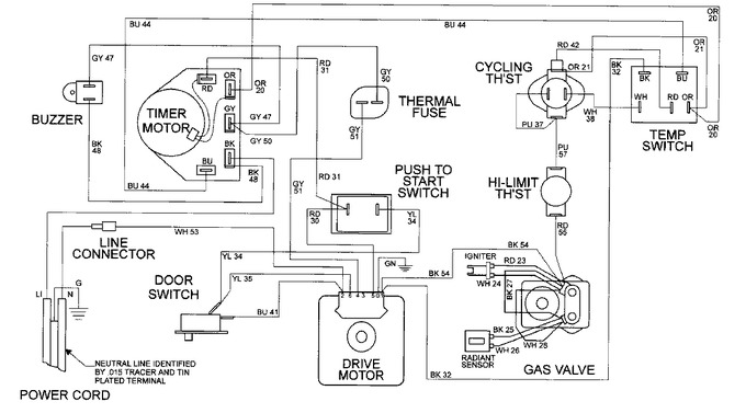 Diagram for MDG9206BWW