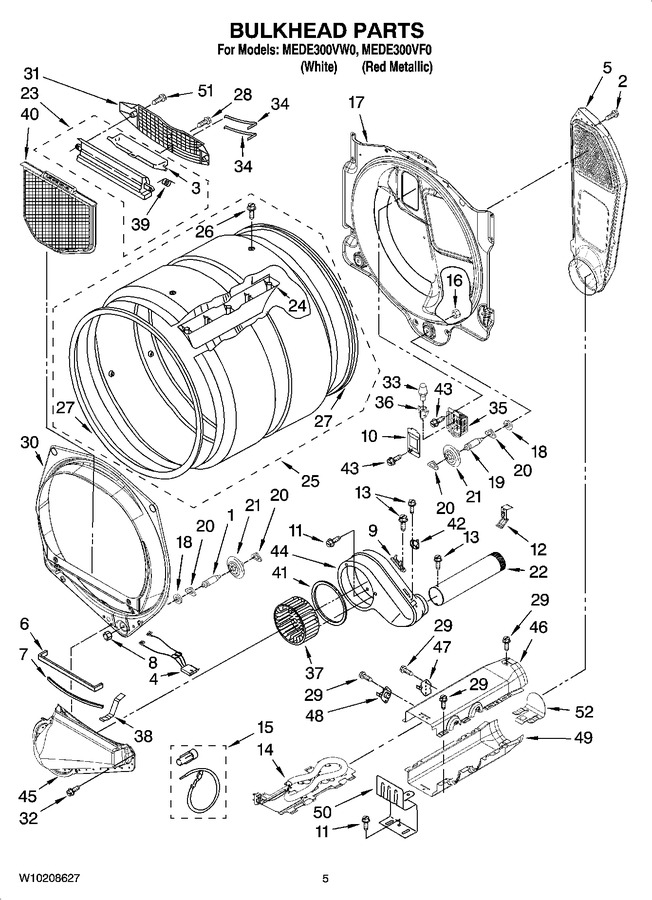 Diagram for MEDE300VW0