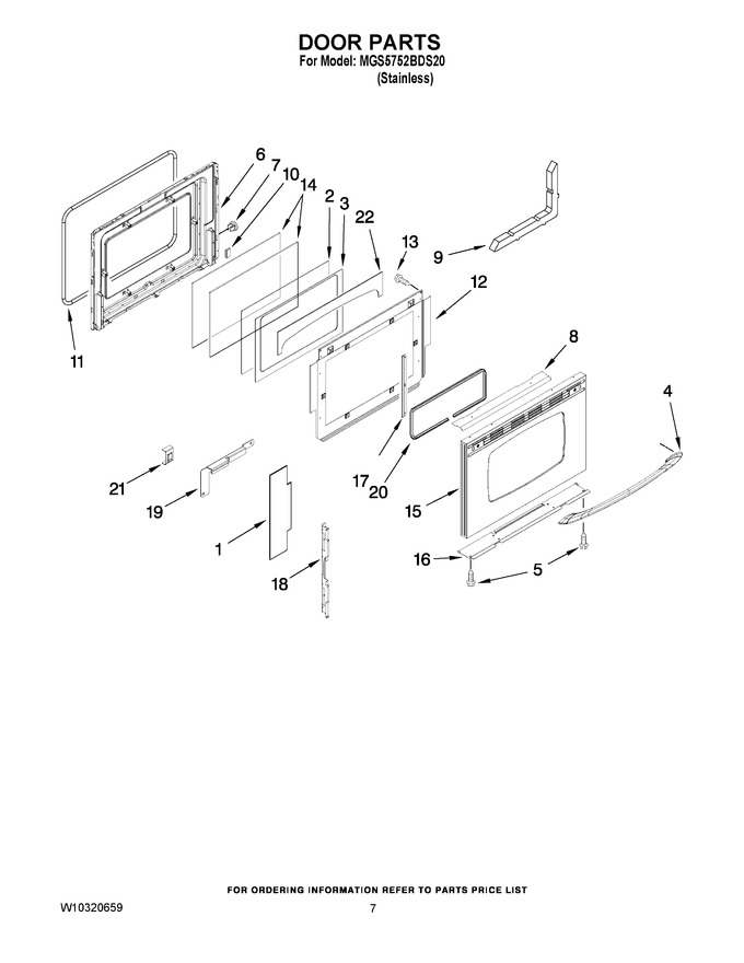 Diagram for MGS5752BDS20