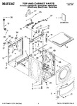 Diagram for 01 - Top And Cabinet Parts