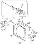 Diagram for 08 - Door Shroud & Door Latch Assembly (was