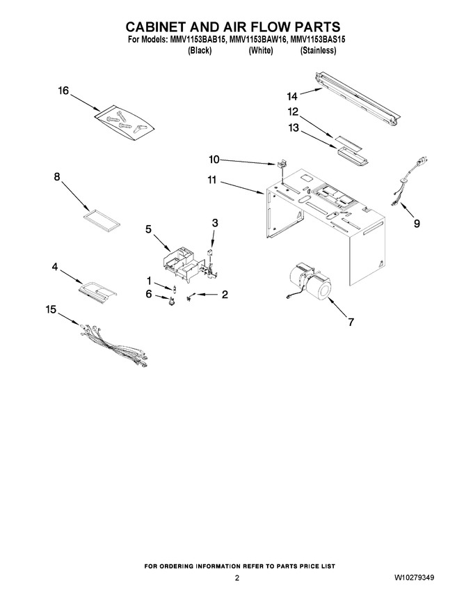 Diagram for MMV1153BAW16