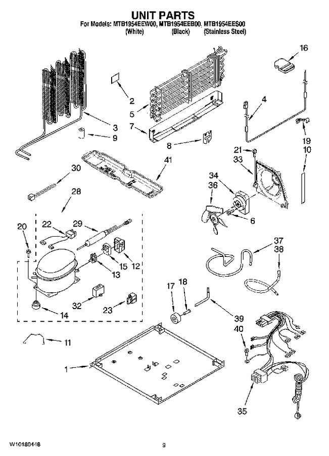 Diagram for MTB1954EES00