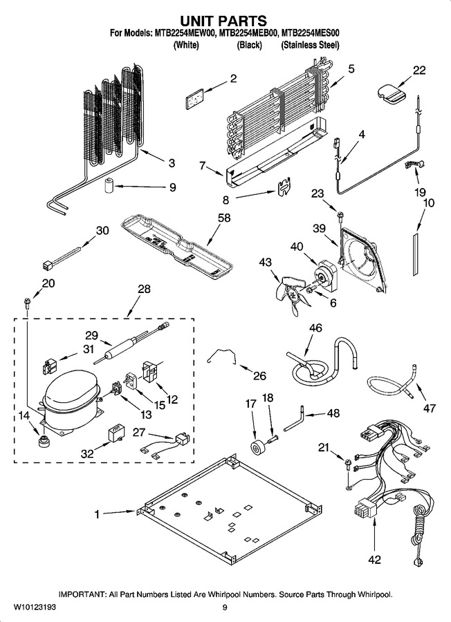 Diagram for MTB2254MES00