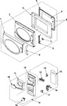 Diagram for 02 - Control Panel/door Assembly