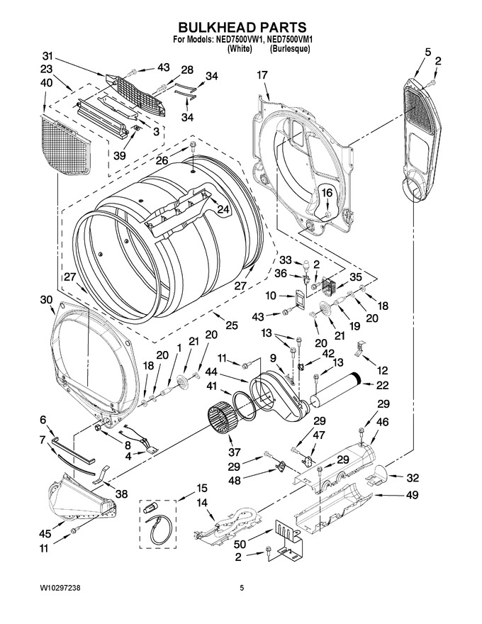 Diagram for NED7500VW1