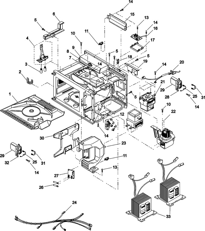 Diagram for UFS18E (BOM P1330231M)