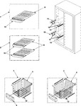 Diagram for 05 - Freezer Shelves