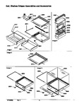 Diagram for 03 - Deli, Shelves Crisper Assemblies & Acs