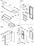 Diagram for 13 - Refrig Door & Trim And Handles