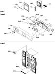 Diagram for 05 - Facade Dispenser Cover, Elec Brkt Assy