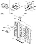 Diagram for 12 - Shelf, Crisper Assemblies And Toe Grille