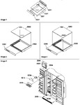 Diagram for 12 - Shelf, Crisper Assemblies & Toe Grille