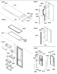 Diagram for 11 - Refrigerator Door Trim