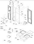 Diagram for 13 - Refrigerator/freezer Lights And Hinges