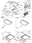 Diagram for 04 - Deli, Shelves, Crisper Assemblies & Acs