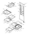 Diagram for 15 - Ref Shelving And Drawers
