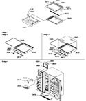 Diagram for 03 - Crisper & Deli Assemblies And Toe Grille